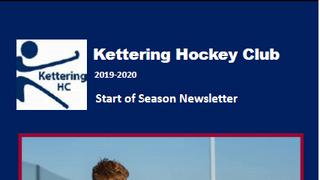 Start of Season Newsletter