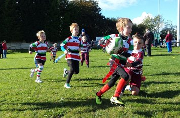 Some great rugby played by both teams!