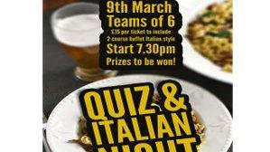 Quiz Night March 9th