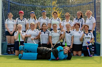 From left to right (top row): Alyssa Tunstall, Ashton Alderson, Daisy Davies, Carole Price, Megan Johnson, Georgia Clist, Charlie Dowell, Gemma Lyon. Bottom row: Izzi Heywood, Kerri-Anne Annand, Amanda Holloway, Rachel Johnson (Captain), Louise Higgins, J