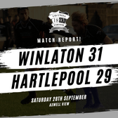 Hartlepool Pipped At The Post As Vulcans Launch Late Comeback