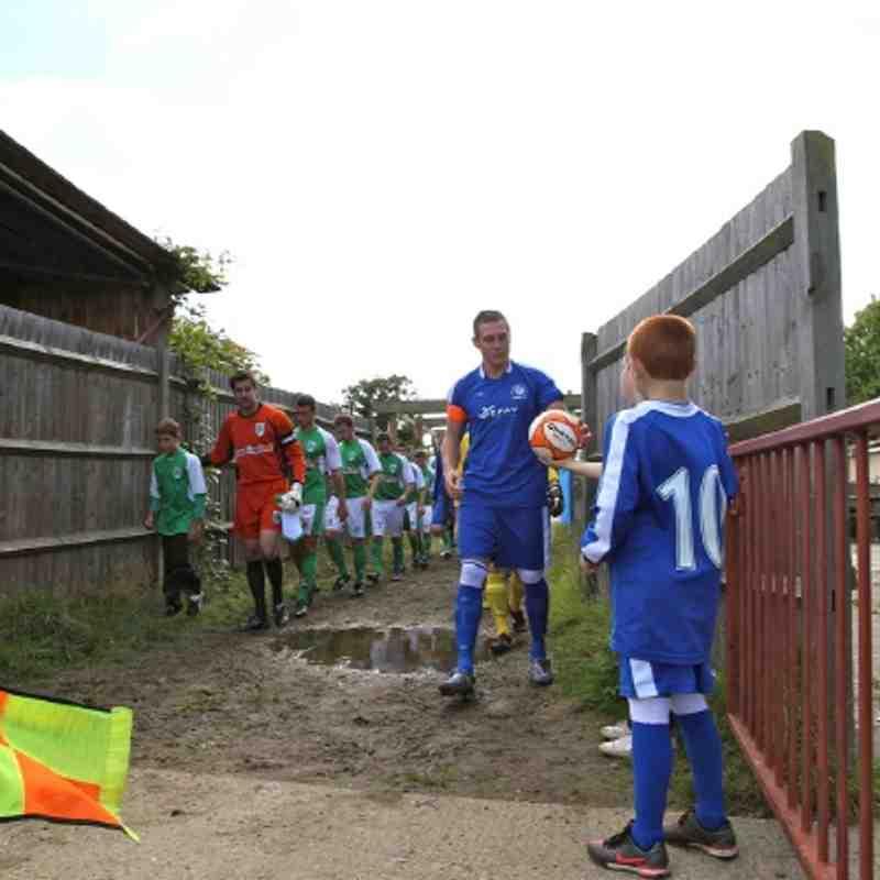 Chessington & Hook vs Guernsey - Saturday 29th September 2012