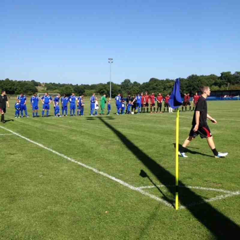 Chessington & Hook vs Sittingbourne - 31st August 2013