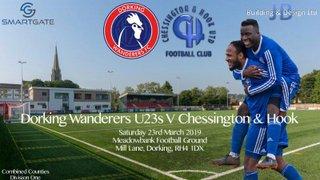 Chessy v Dorking Wanderers U23s