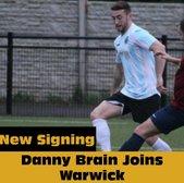 Danny Brain joins Racing