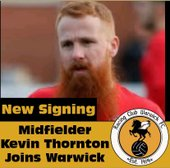 Kevin Thornton signs for Racing