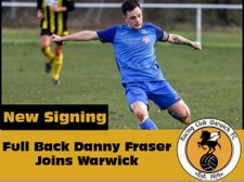 Danny Fraser commits to Racing