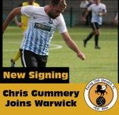 Chris Gumery joins Racing