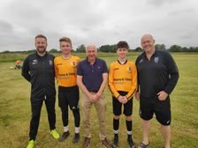 Youth kit unveiled with sponsors Moore & Tibbits