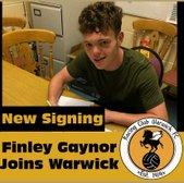 Racing Club sign Finley Gaynor