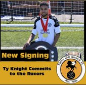 Ty Knight joins Racing Club