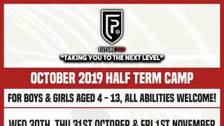Half term football camp at Racing Club