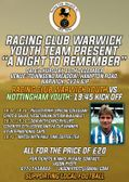 Racing Club Warwick Youth present 'A Night To Remember'