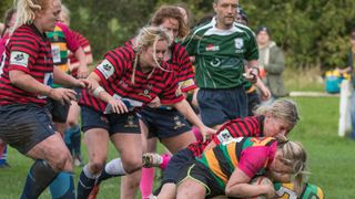 Halifax Ladies v Littleborough 8th Oct 2017 by Bev Clough Photography