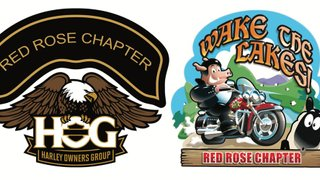 Harley Owners Group, Red Rose Chapter: Wake the Lakes 2019!