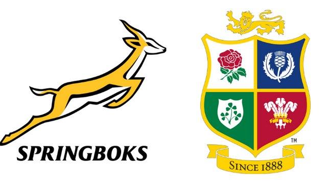 Springboks v Lions   SECOND TEST   Saturday 31 July, K.O. 5pm
