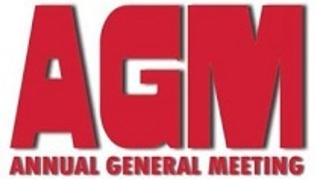 A.G.M. 7.30pm 21st January 2021 will be conducted on  Zoom .