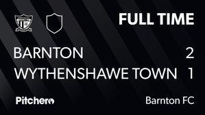 Barnton 2-1 Wythenshawe Town