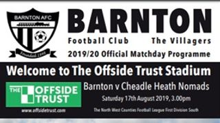 Barnton v Cheadle Heath Nomads - Preview