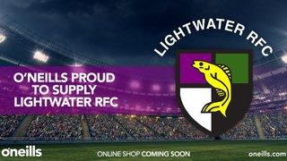 Lightwater reveal new kit sponsor