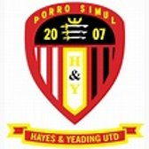 Match Report - Hayes & Yeading Utd  (away) - Pre-season Friendly