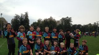 Quins U8s at London Scottish Festival