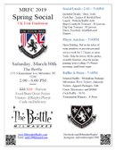 SPRING SOCIAL AT THE BOTTLE THIS SATURDAY!
