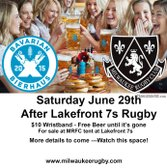 Lakefront 7s After Party!