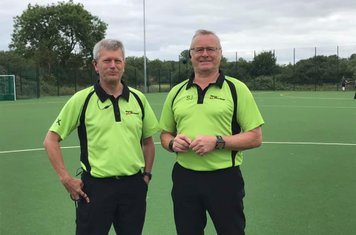 SHC Old Boys v SHC 1st XI referees