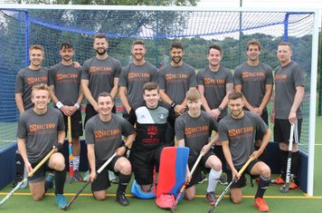 Men's 1st XI team photo