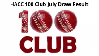 100 Club July result