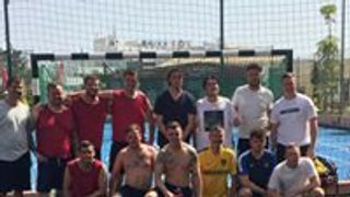 Marston Saints win OUFC Fans 5 a side