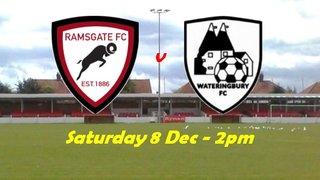 8 Dec: Reserves v Wateringbury