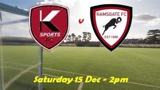 15 Dec: K Sports Res v Rams Res