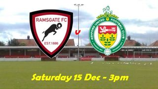 15 Dec: Rams 1 Ashford 3