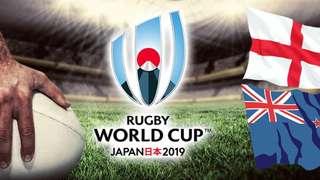 England V New Zealand Semi Final
