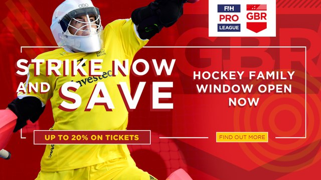 Save 20% On The Return Of International Hockey