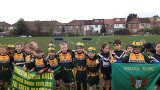 U8s great match vs Woolston Rovers