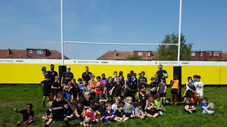 Record numbers at Minis/Juniors Open Day