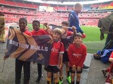 Mini Bulls at Wembley