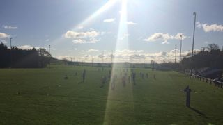 Sunny Sunday morning for 7,8,and 10s training