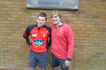 Jev and Gary's first game together. Newark 3rds. 27/2/10