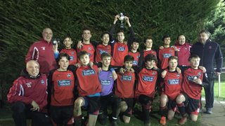 SWAY u15 DIG DEEP TO LIFT CUP IN PENALTY SHOOT-OUT DRAMA