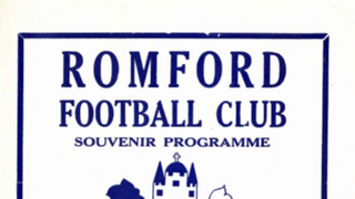 Romford v Salisbury - 19th April 1977 - Souvenir Programme