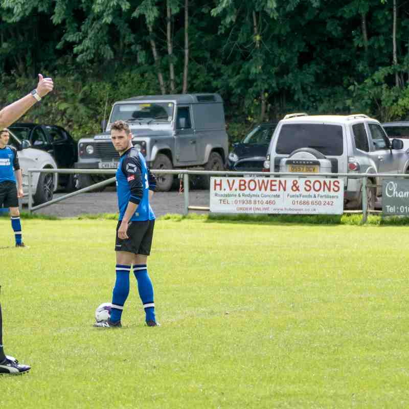 Berriew 1 - 2 Bow Street 12/8/17 Spar Mid Wales Div1