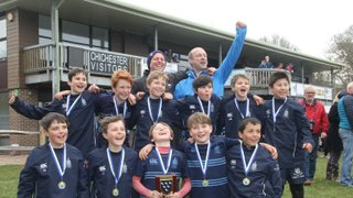 Hat trick!  U10s win Sussex Cup for the 3rd year!