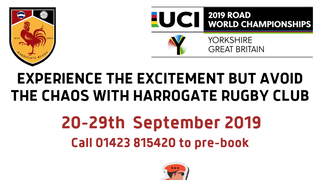 HARROGATE RUFC LAUNCHES PARK 'N' PEDAL FOR UCI