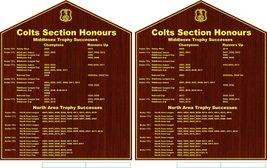 Colts Honours