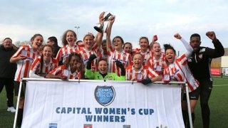 Ashford Ladies Crowned County Cup Winners