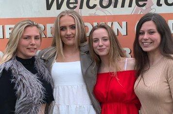 Ellie, Maddie, Milly & Darcie